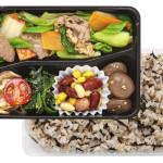 <Beauty>牛肉と青菜炒め&ひじきご飯 670円(税込)