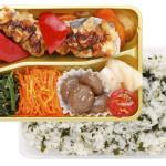<Bright>白身魚のアーモンド焼き&わかめご飯  670円(税込)