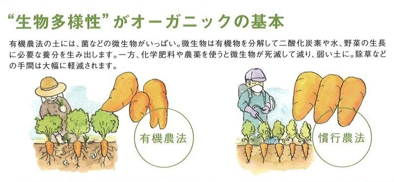 生物多様性がオーガニックの基本